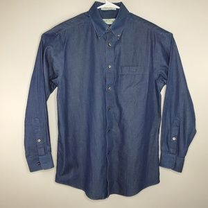Orvis Button Down Casual Long Sleeve Dress Shirt